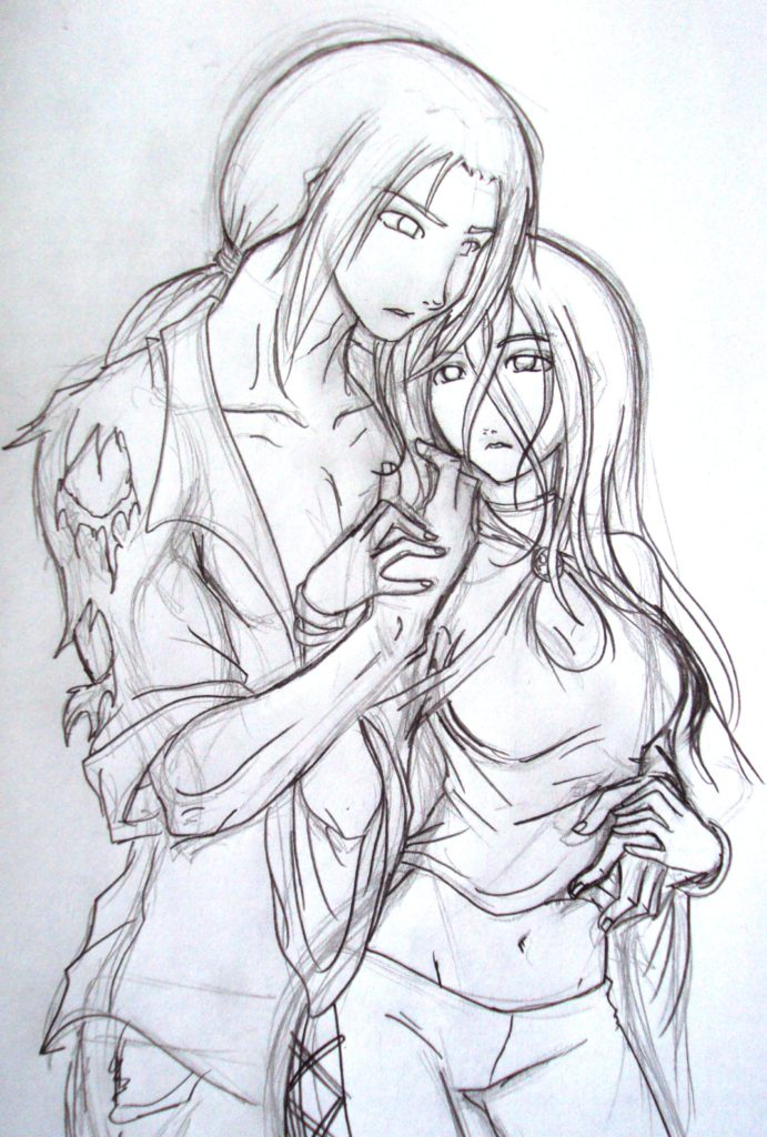 Couple sketch