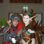 Assassin's Creed and Night Elf cosplay