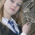 Luna Lovegood Cosplay Owl