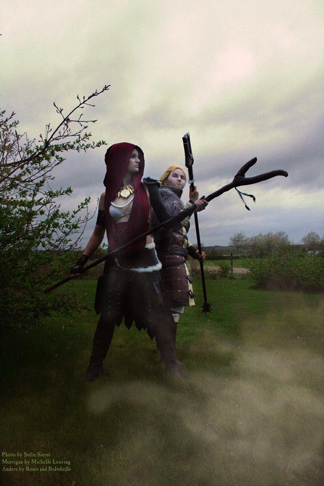 Morrigan Anders Dragon Age Cosplay
