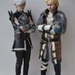 Fenris and Anders cosplay
