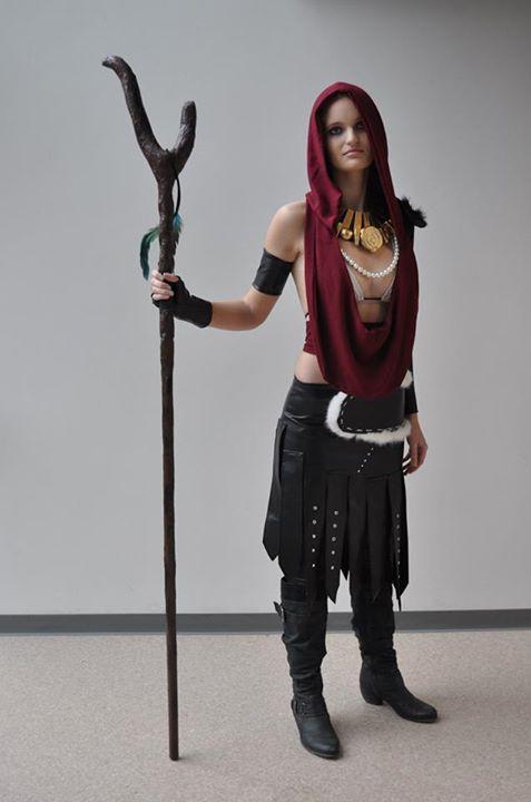 Morrigan cosplay SVScon