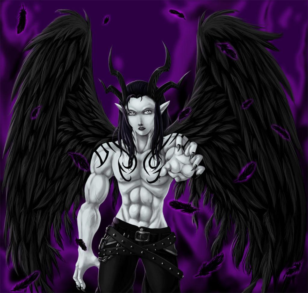 Fallen angel artwork