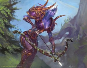 Nordrassil Scout WoW TCG