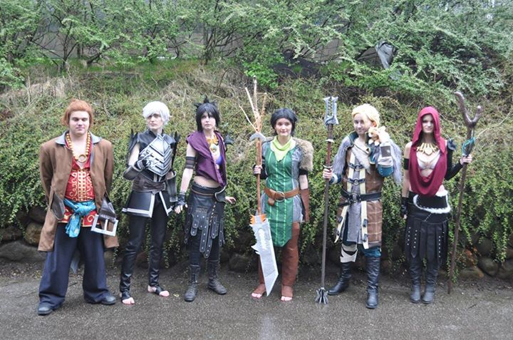 Dragon Age Cosplay group