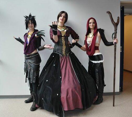 Morrigan cosplays