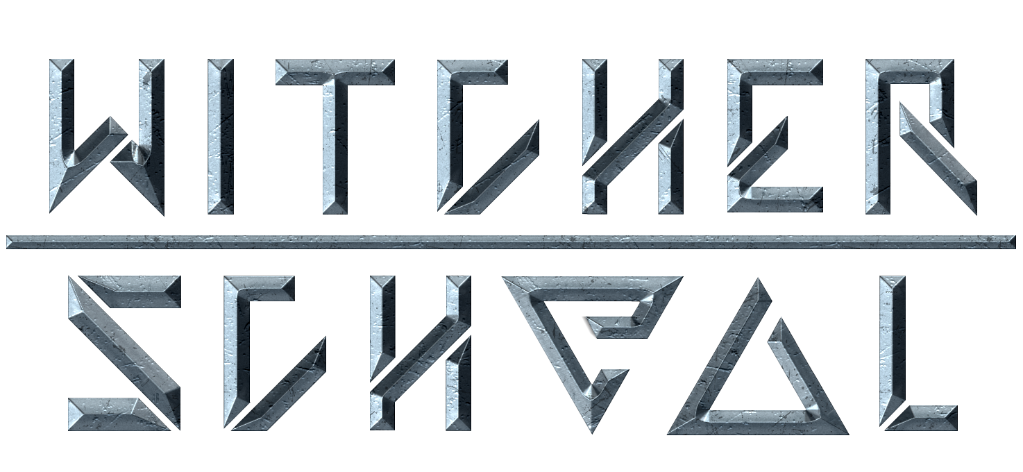 Witcher School logo