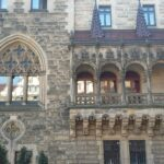 Moszna Castle Balcony
