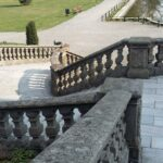 Moszna Castle Stairs