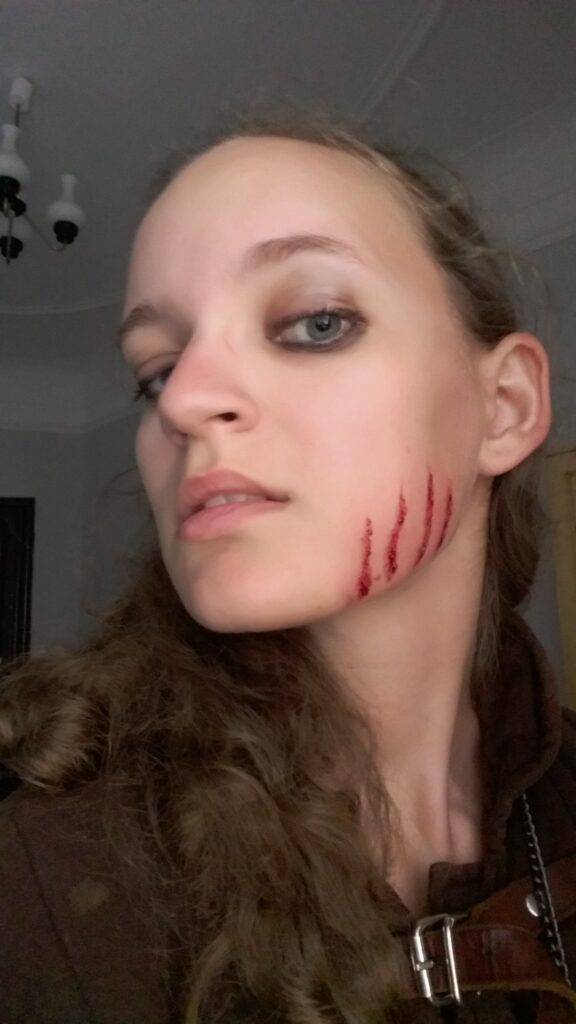 Special effects scar