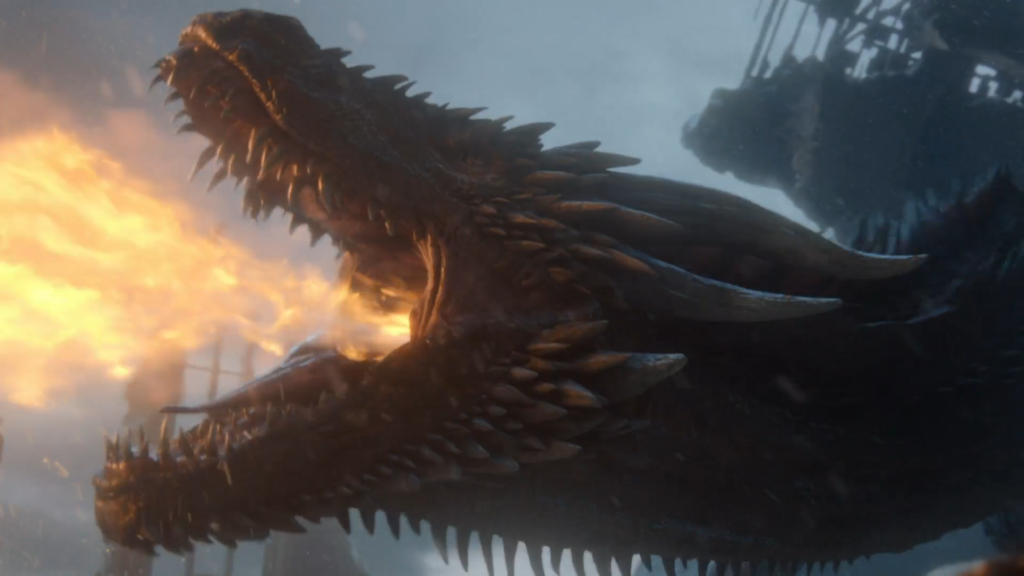 Game of Thrones Drogon The Iron Throne