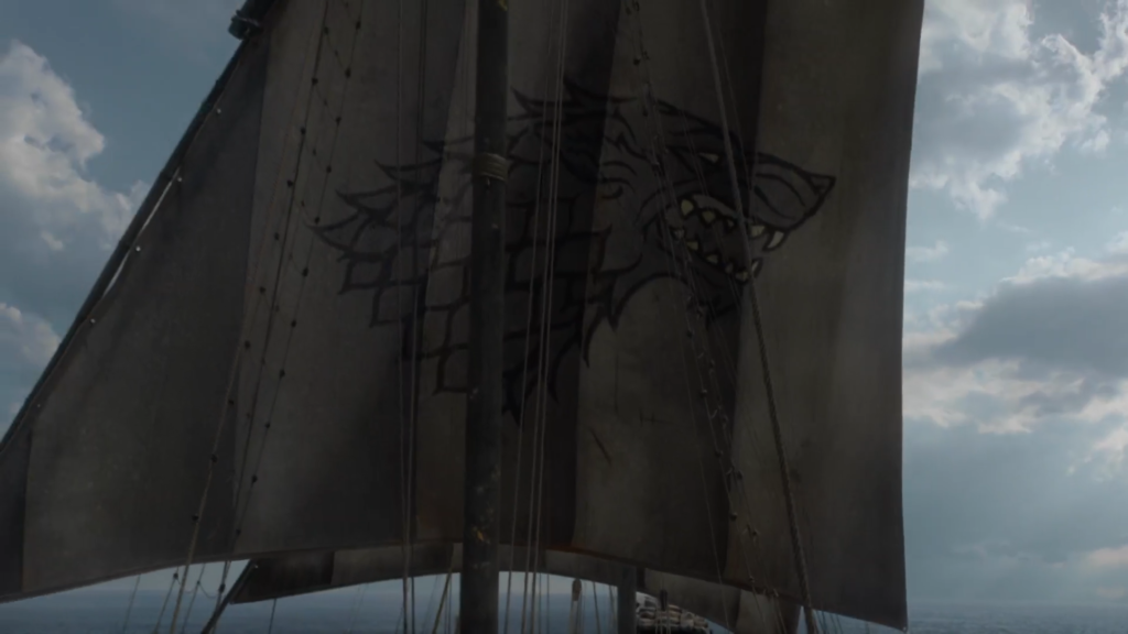 Game of Thrones Stark Sail