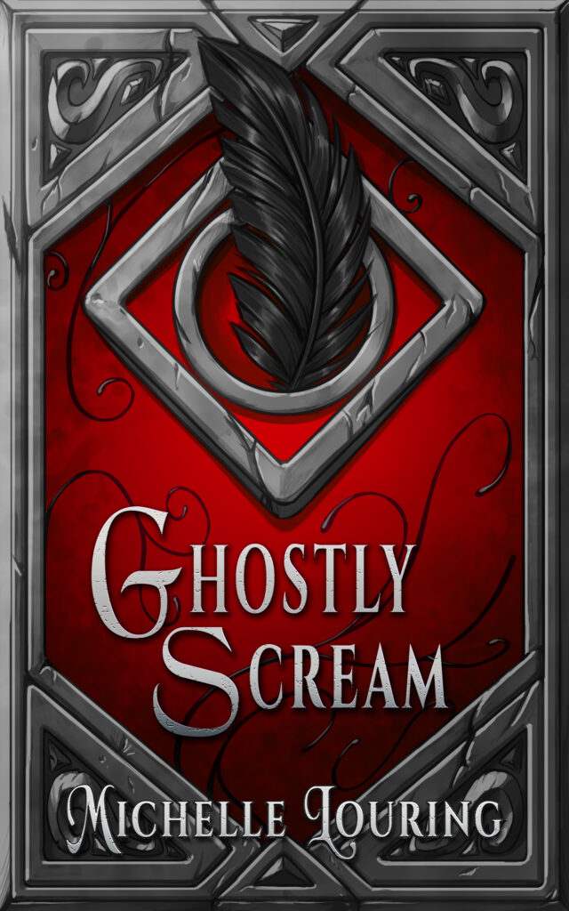 Ghostly Scream Michelle Louring cover