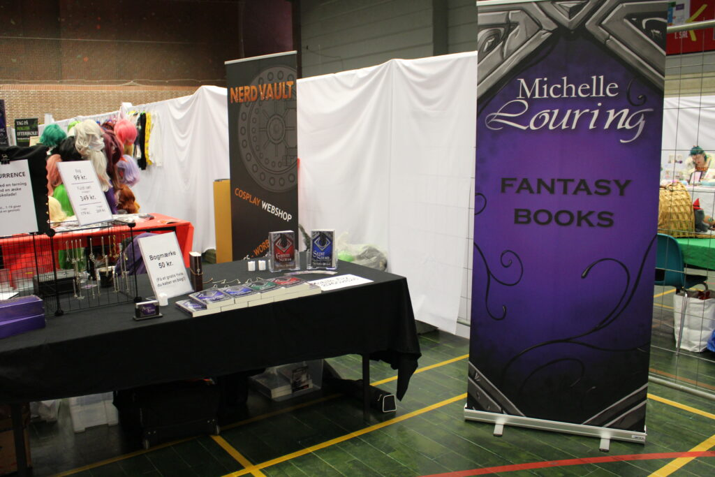 Author booth KoyoCon