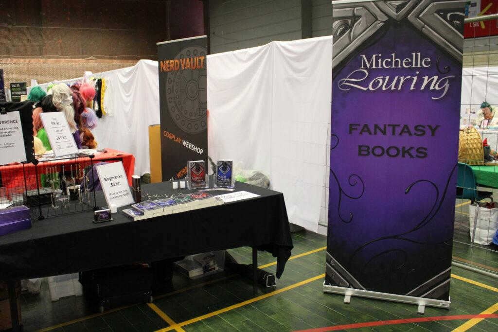 Author booth KoyoCon