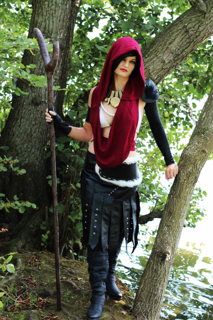 Morrigan Cosplay Lake