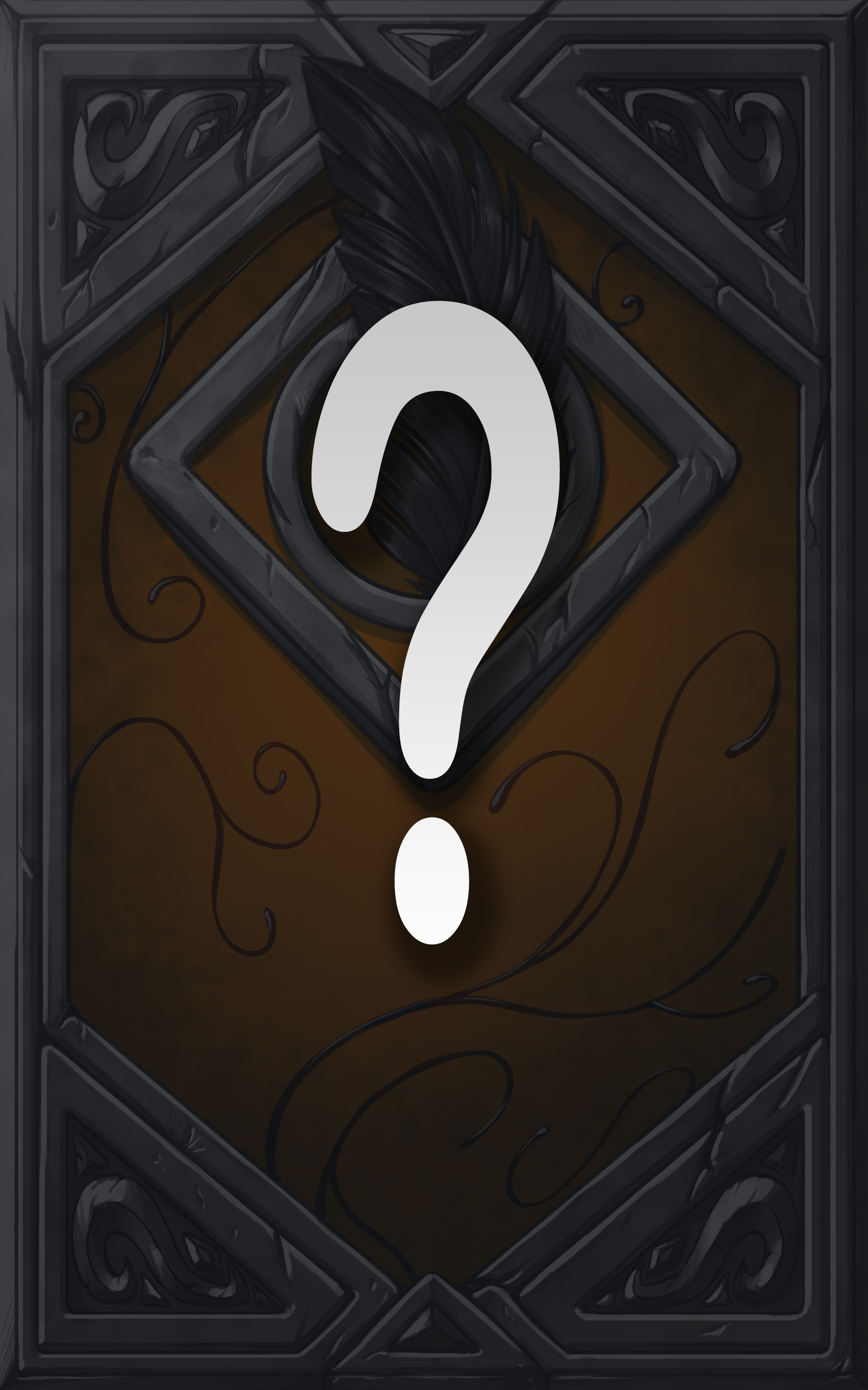 Book cover question mark