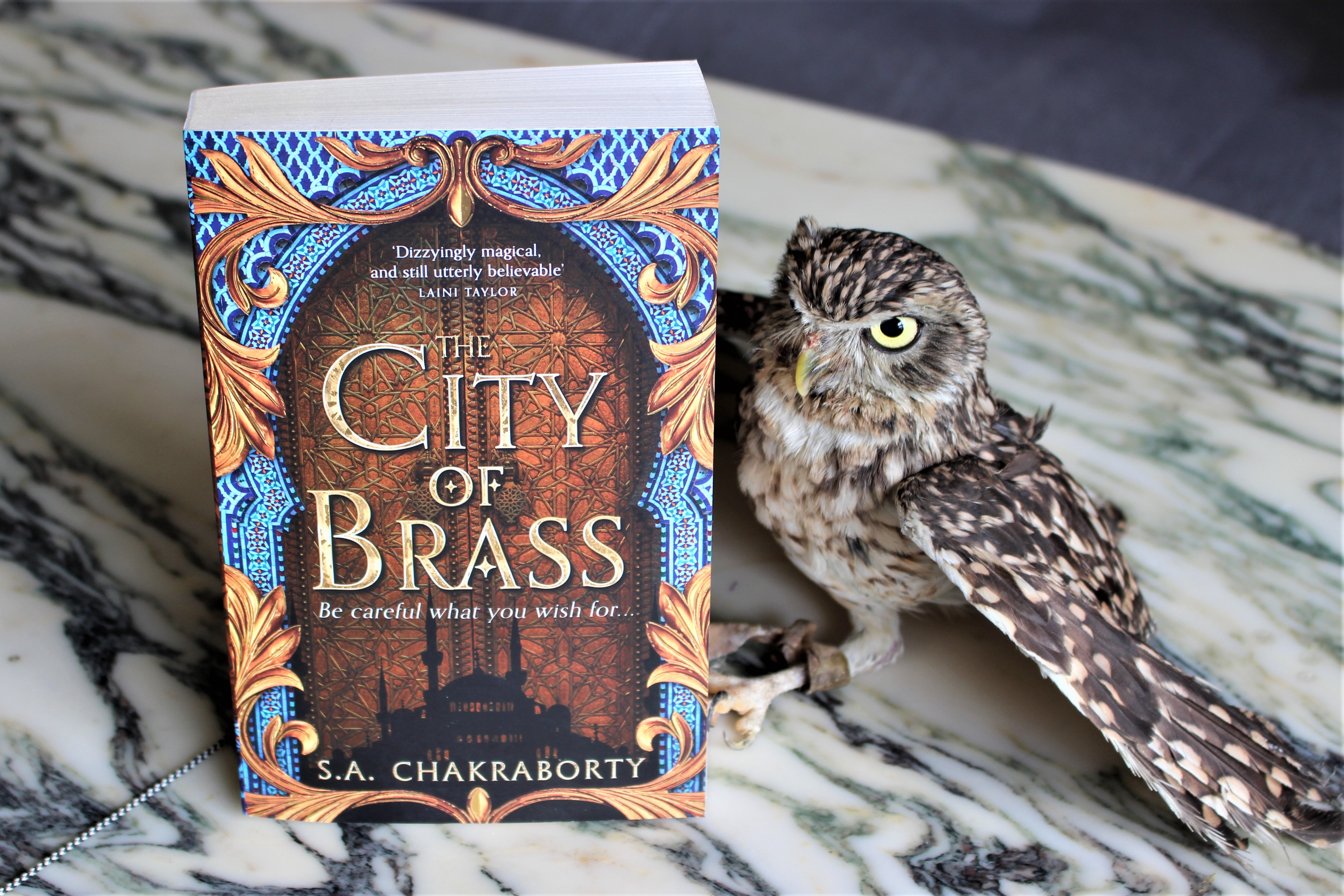 City of Brass by S. A. Chakraborty