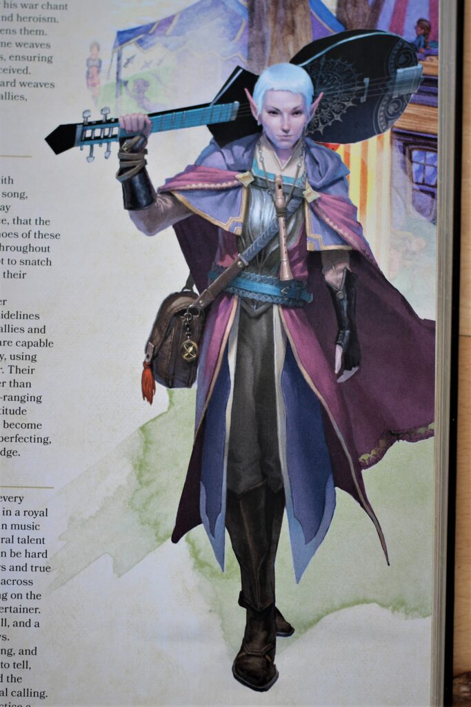 Dungeons and Dragons Bard