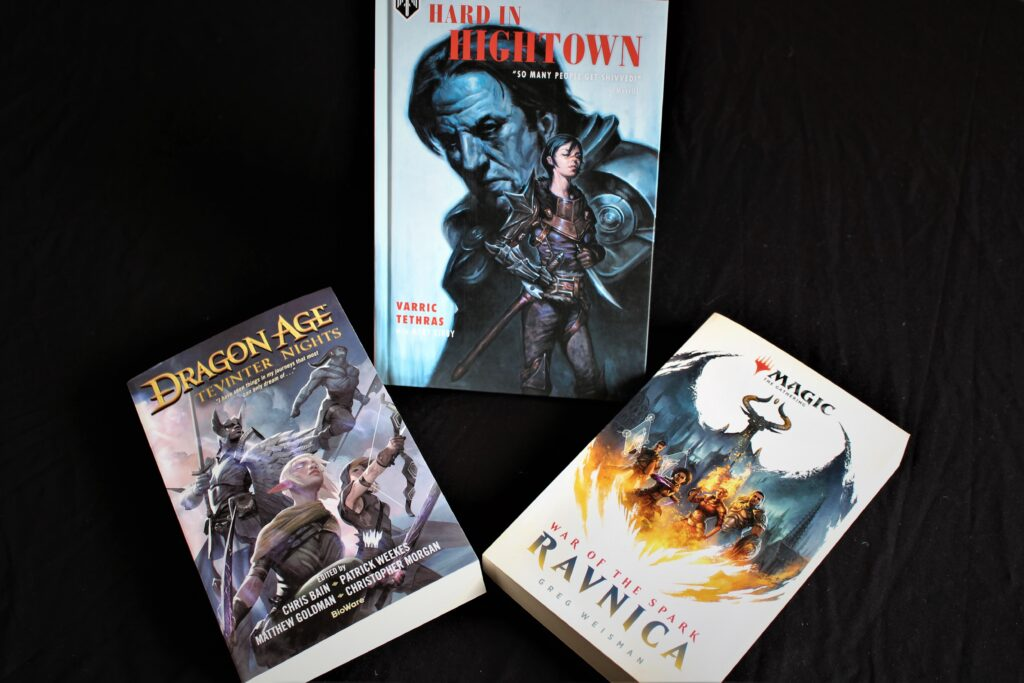 Dragon Age and Ravnica books