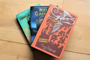 Books Pratchett Gaiman Jones