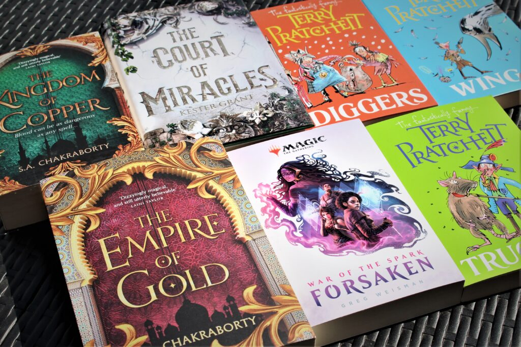July Book Haul Fantasy