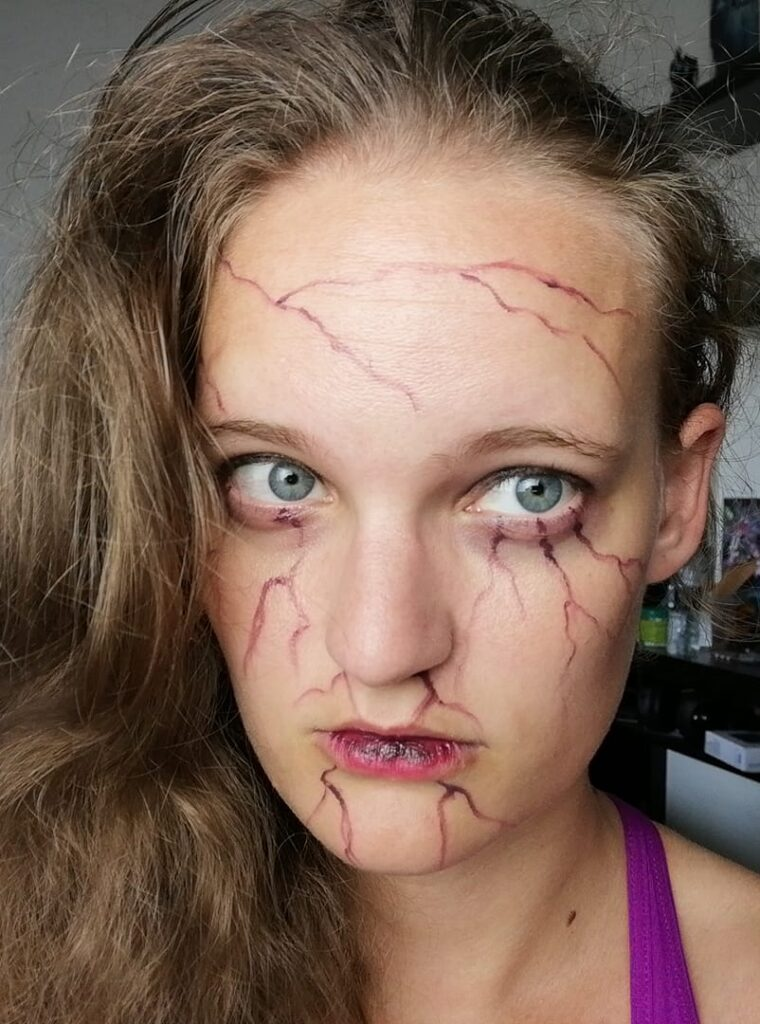 Witcher School makeup