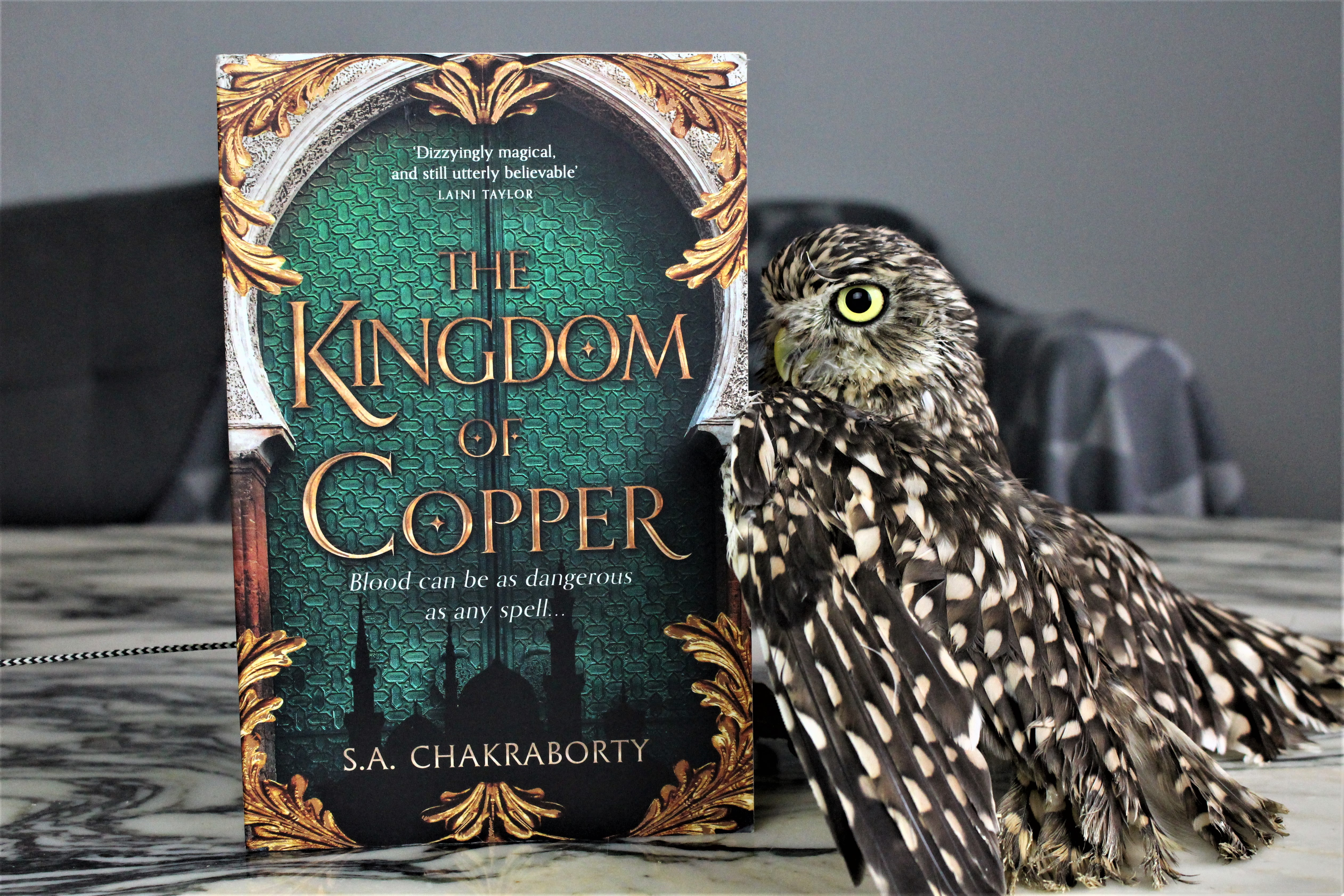 The Kingdom of Copper by S.A. Chakraborty